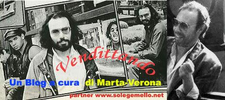 CLICCA! Vendittando, blog di Marta Verona interamente dedicato ad Antonello Venditti